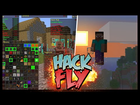✔ COMO É USAR HACK FLY NO SKY WARS?!