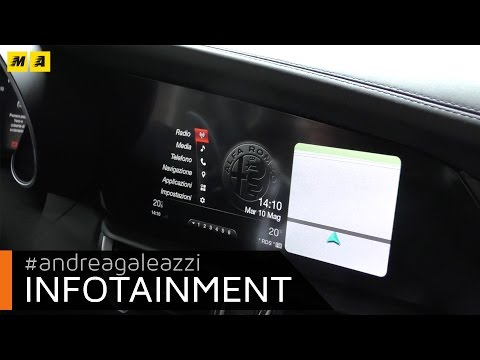 Alfa Romeo Giulia   Focus infotainment