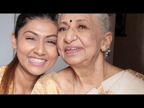 GIVING MY SAVAGE GRANDMOM A MAKEOVER!!!!! | TAMIL VIDEO WITH FUNNY SUBTITLES |  Bosslady Shruti