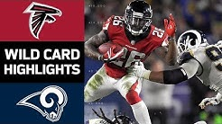 Falcons vs. Rams | NFL Wild Card Game Highlights