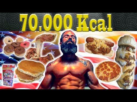 EL RETO DE LAS 70.000 Kcal. en U.S.A.