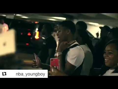 nba youngboy  almost gets robbed(real footeget)