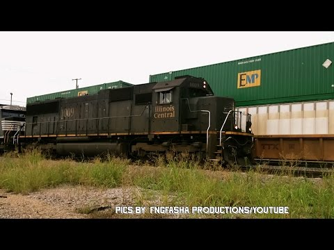Railfanning Dallas Texas: Video 5 of 5: Part 2 of 2.