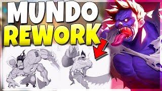 DR. MUNDO REWORK!!! New Update + New Abilities! League of Legends