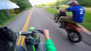 ILLEGAL DIRT BIKE WHEELIES