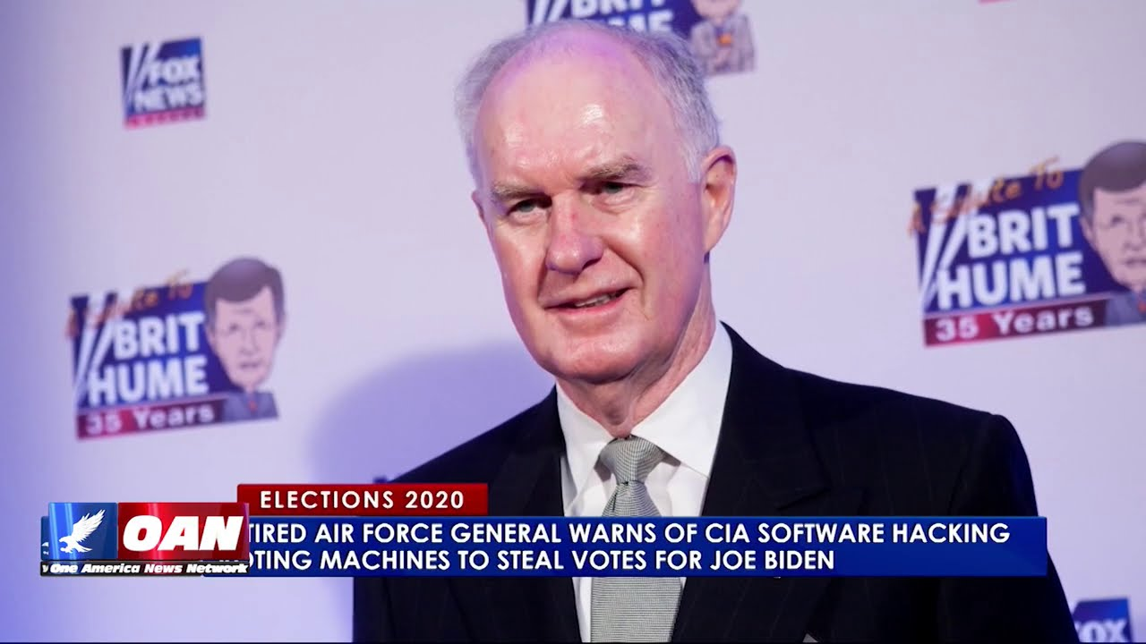 Retired Air Force General blows whistle on CIA vote hacking | Pearson Sharp Reports