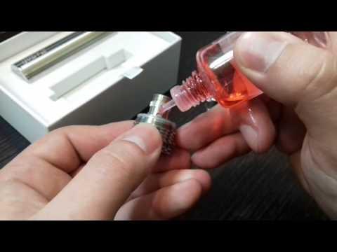 Как заправить Eleaf iJust2. Заправка электронной сигареты