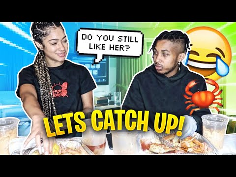 SEAFOOD BOIL MUKBANG WITH DDG *JUICY Q&A*
