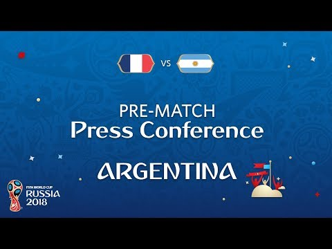2018 FIFA World Cup Russia™ - FRA vs ARG - Argentina Pre-Match Press Conference