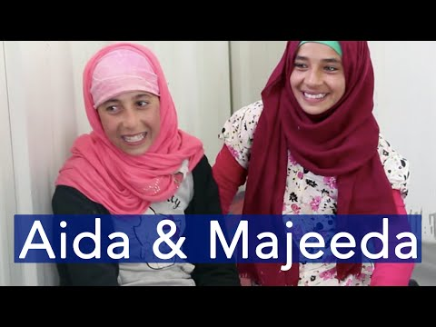 Aida and Majeeda: Thoughts from the Azraq Refugee Camp