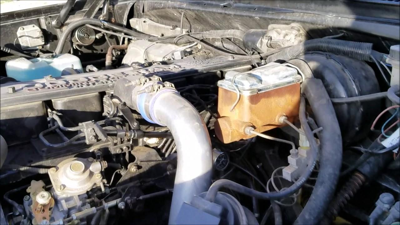 gasser truck throttle cable fix to 1st first gen dodge cummins diesel [ 1280 x 720 Pixel ]