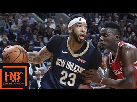 Houston Rockets vs New Orleans Pelicans Full Game Highlights / Jan 26 / 2017-18 NBA Season