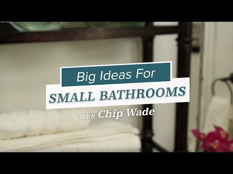 Maximize Space in a Small Bathroom