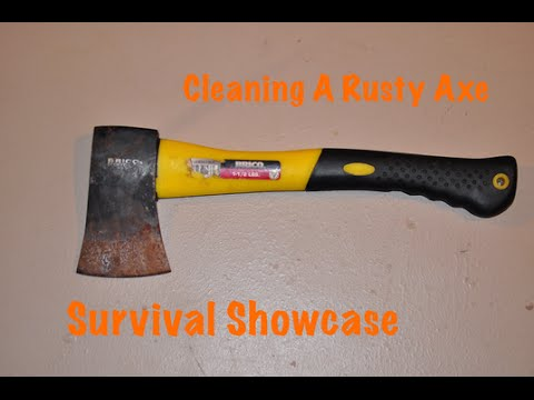 Cleaning Rust from Axe