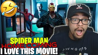 Spider-Man: Homecoming (2017) Movie Reaction! FIRST TIME WATCHING!