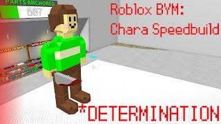 Roblox BYM: Chara Speedbuild