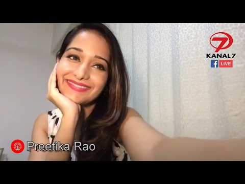 Preetika Rao Kanal 7 Facebook Canlı Yayını - 2017