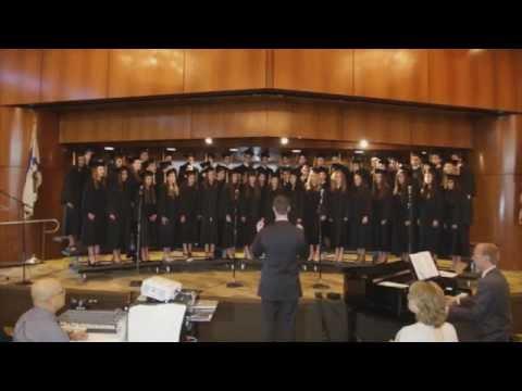 Sinai Akiba Academy Graduation Ceremony 2014