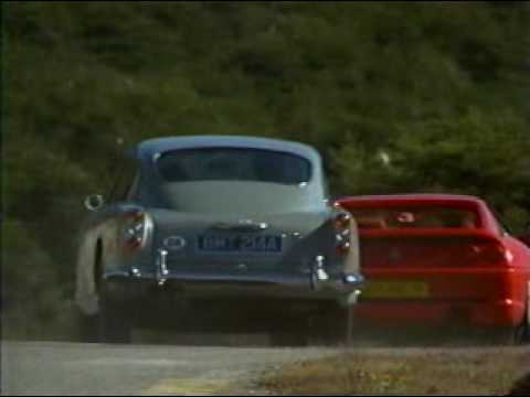 Car Racing Scene In James Bond Style Youtube