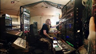 "Venetian Snares creating ""Traditional Synthesizer Music"""