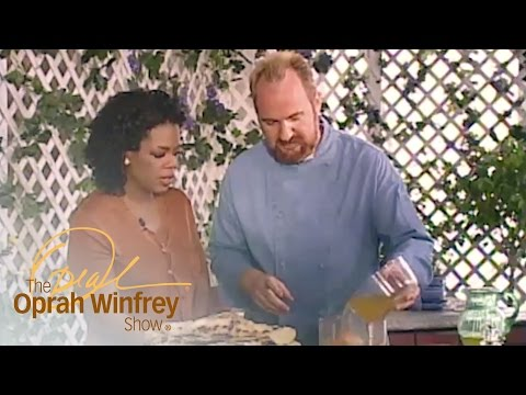 Oprah and Chef Art Smith Invent a Grilled Tomato and Bell Pepper Soup