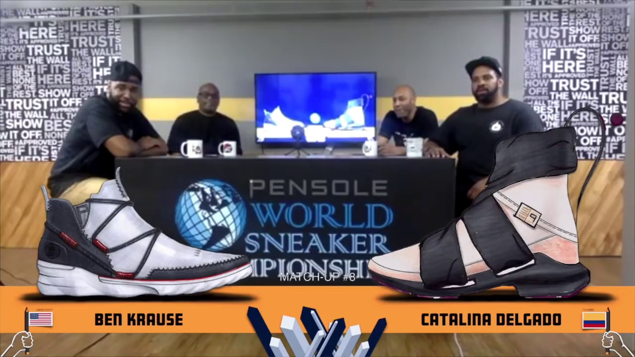 f544855446f TOP 64 Selection of the 2018 World Sneaker Championship. PENSOLE Footwear  Design Academy