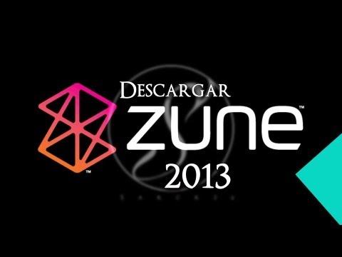Como Descargar ZUNE 2013