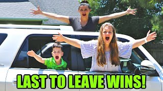 LAST ONE TO LEAVE THE CAR WINS $1000!