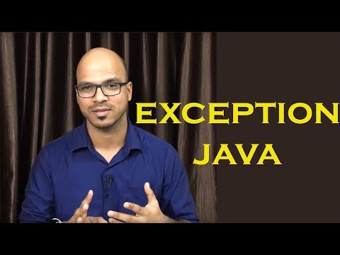 10.1 Exception Handling in Java Theory