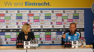 Pressekonferenz vor dem Spiel gegen Fortuna Köln