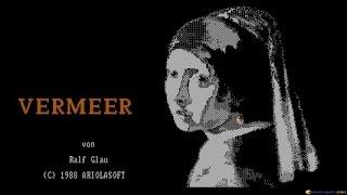 Vermeer gameplay (PC Game, 1987)