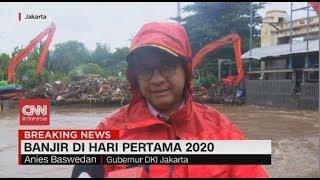 Tanggapan Anies Soal Banjir di Ibu Kota