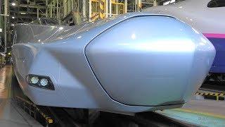 ALFA-X達を見上げてみた! 第34回新幹線車両基地まつりPart2 Shinkansen rolling stock base festival