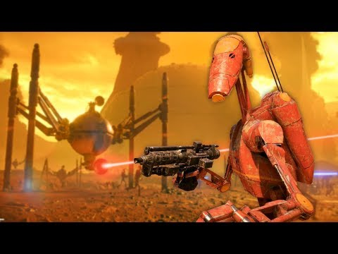 Star Wars Battlefront 2 - Funny Moments #26 Geonosis thumbnail