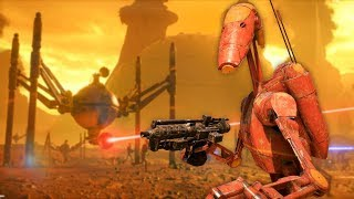 Star Wars Battlefront 2 - Funny Moments #26 Geonosis