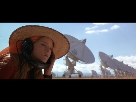 "Carl Sagan's Book ""Contact"" Read By Jodie Foster"