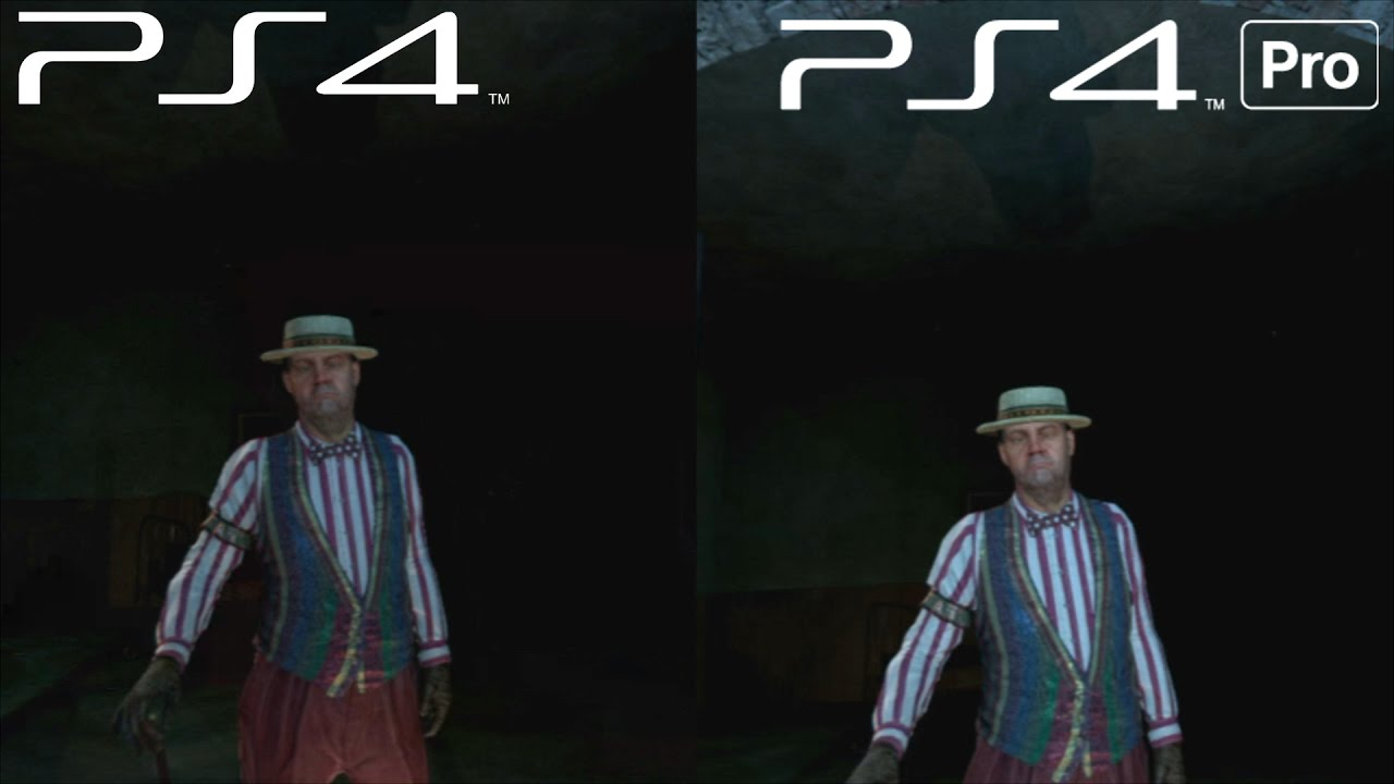 ps4 pro vs ps4 until dawn rush of blood ps vr youtube. Black Bedroom Furniture Sets. Home Design Ideas