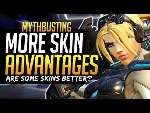 Overwatch Mythbusters PART 2 - MORE Skins that give you Advantages / Disadvantages