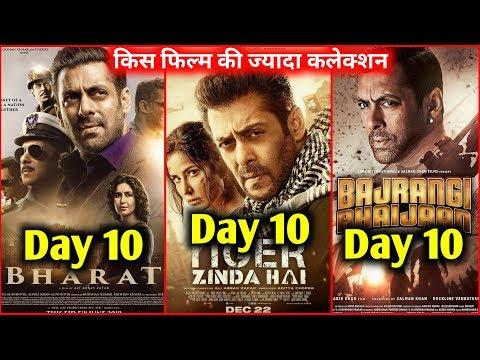 Bharat Vs Tiger Zinda Hai Vs Bajrangi Bhaijaan 10th Day Box Office Collection | Who Wins?