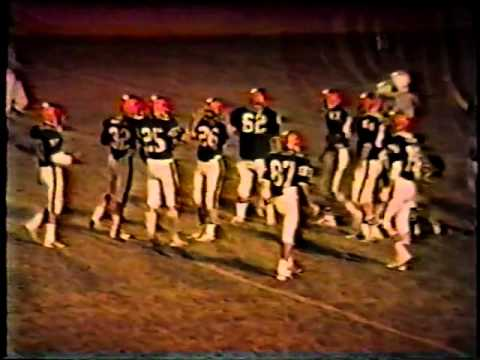 Van Buren vs West Burlington Football 1984 Part 2 of 5