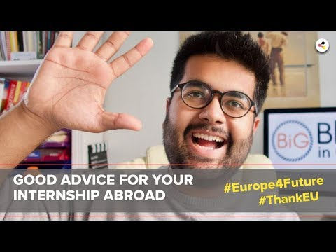Chance Europe | Internship abroad in Germany | #Europe4Future #ThankEU