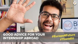 Chance Europe | Internship abroad in Germany | #Europe4Future #ThankEU