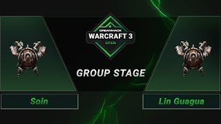 WC3 - Soin vs. Lin Guagua - Groupstage - DreamHack WarCraft 3 Open: Summer 2021 - Asia