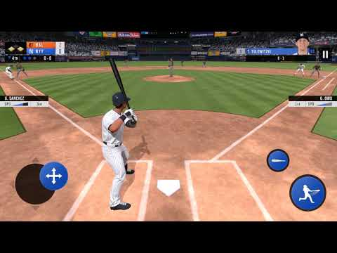 RBI Baseball '19 Yankees vs. Orioles Gameplay (Opening Day)