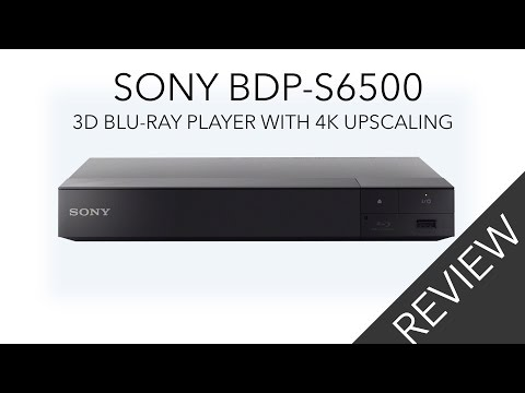 Sony BDP S6500 Blu-ray Player Review