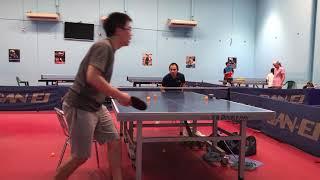 Pendulum Serve BH Flick FH Attack Practice - Harry Table Tennis