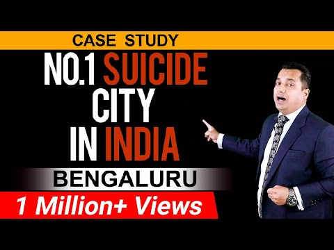 No.1 Suicide City In India   Bengaluru   Dr Vivek Bindra