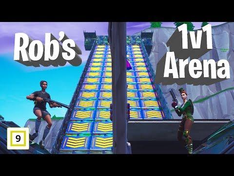 Robs 1v1 Build Battle Arena