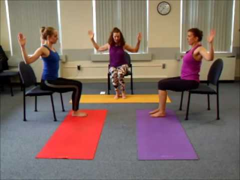 Basic Chair Yoga 2016