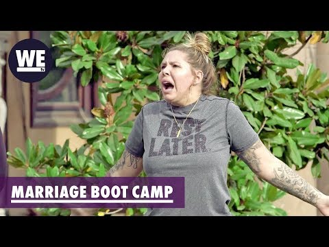I'll Take the Blame Just to Shut Him Up! | Marriage Boot Camp: Reality Stars | WE tv